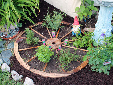 DIY: Herb Wheel