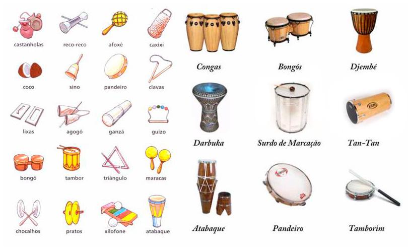 Instrumentos Musicais | Percussão