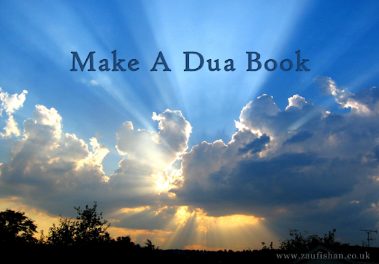 Collection of Duas (Make A Dua Book) | Zaufishan