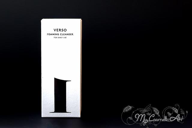 Limpiador facial de Verso Skincare
