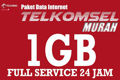 Paket Data Telkomsel 1gb Murah Full 24 jam All Jaringan 2g 3g 4g