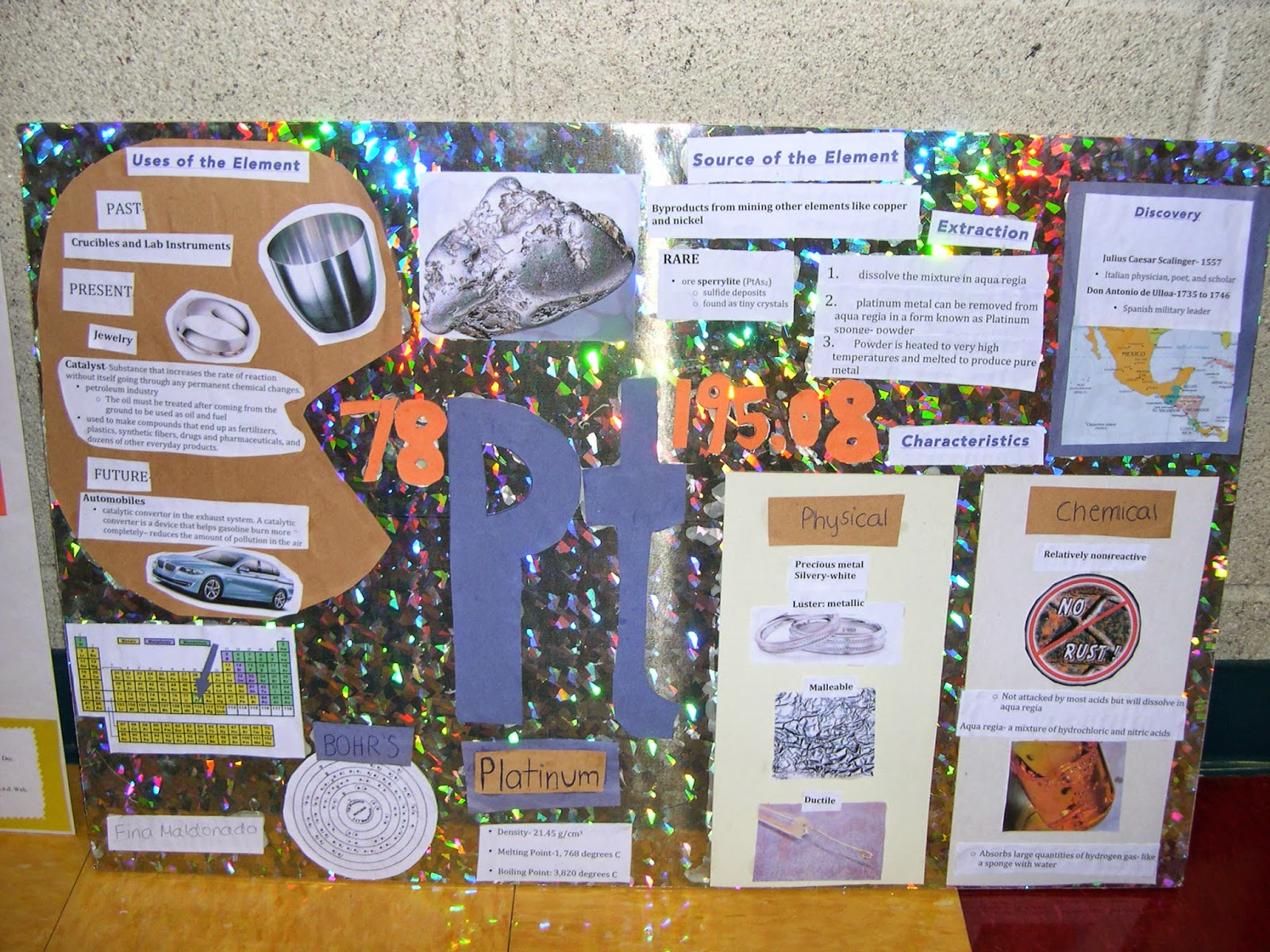 Periodic table poster project periodic diagrams science periodic table of elements projects choice image urtaz Images