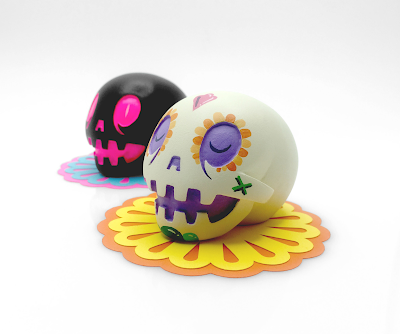 Night & Day Calaverita Mini Resin Figure Set by The Beast Brothers