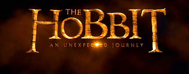 Outro Letreiro do Filme o Hobbit com O Subtítulo do Filme - An Unexpected Journey