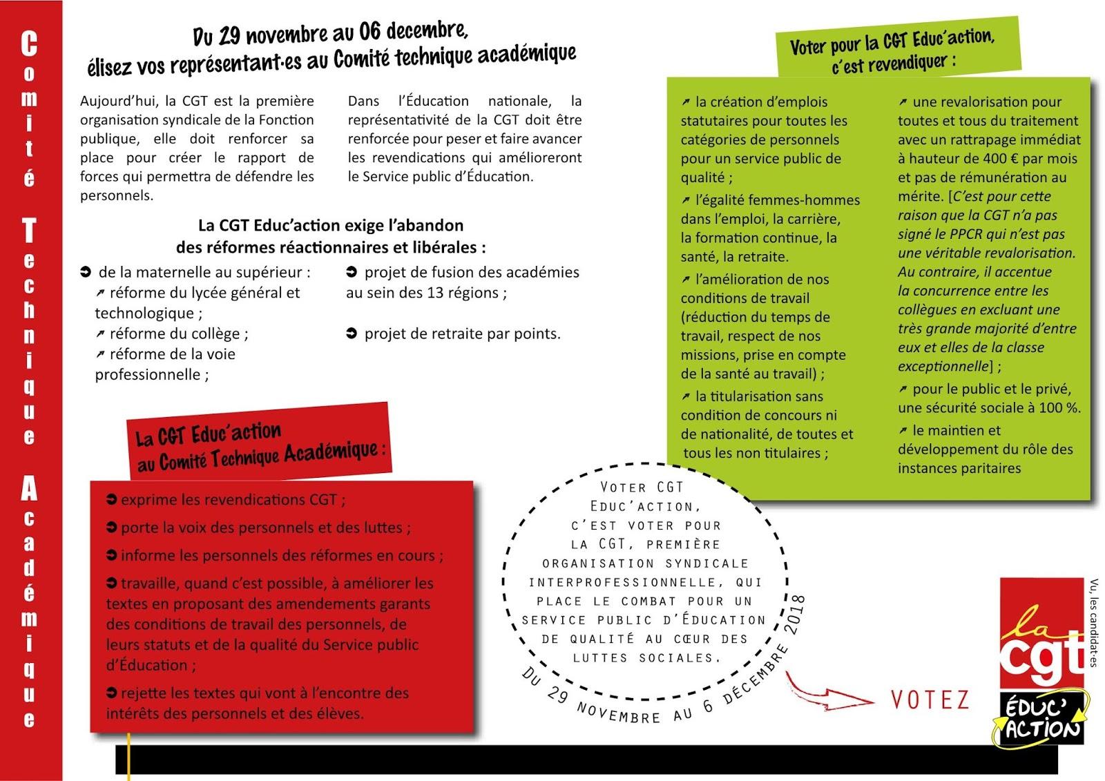 Elections Education Nationale 2018 Academie De Caen