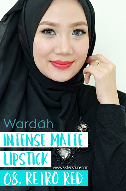 Wradah Intense Matte Lipstick Retro Red