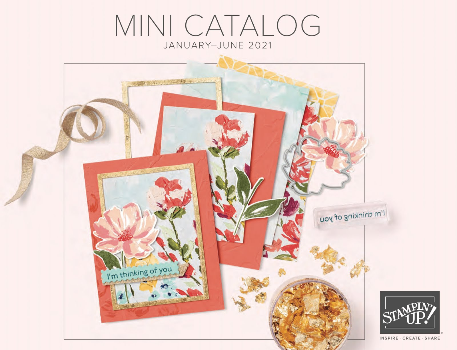 The new January - June mini catalog