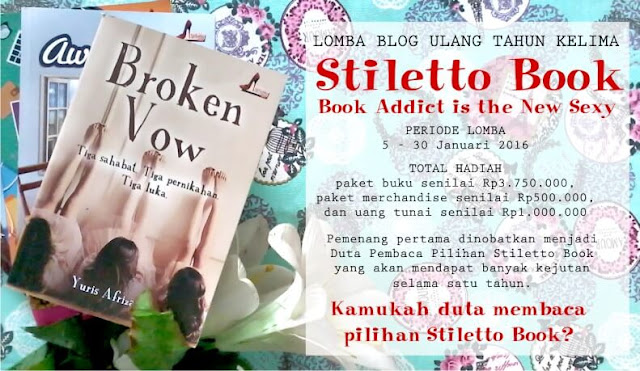 buku adiktif stiletto book