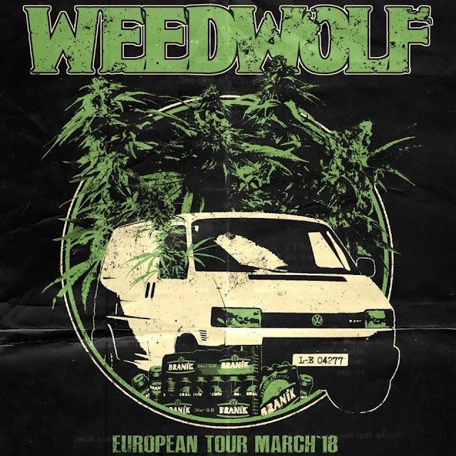 [News] WEEDWOLF Greek tour March'18