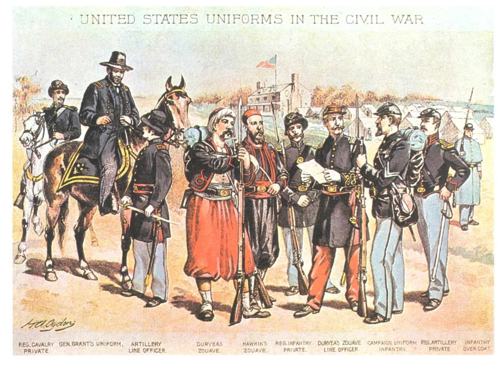 About President Abraham Lincoln Civil War Union Army Uniforms Illustrated