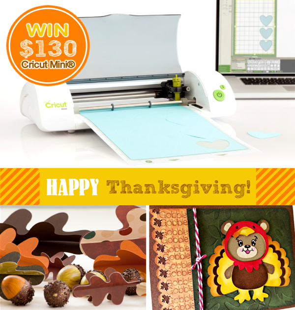 Thanksgiving DIY Craft Ideas with Cricut