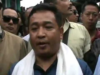 Sikkim Krantikari Morcha chief PS Golay