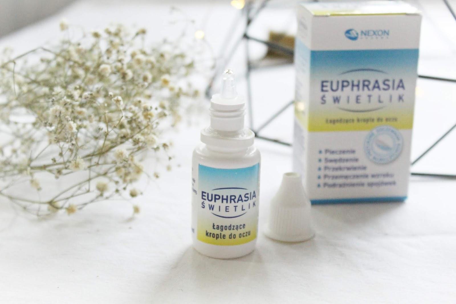 Euphrasia Świetlik- ratunek dla zmęczonych oczu