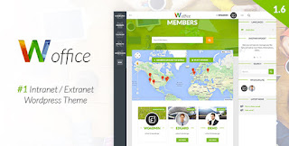 Woffice v1.6.0 WordPress Theme Free Download - Themeforest
