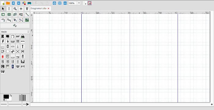 criar fluxogramas organogramas no linux ubuntu