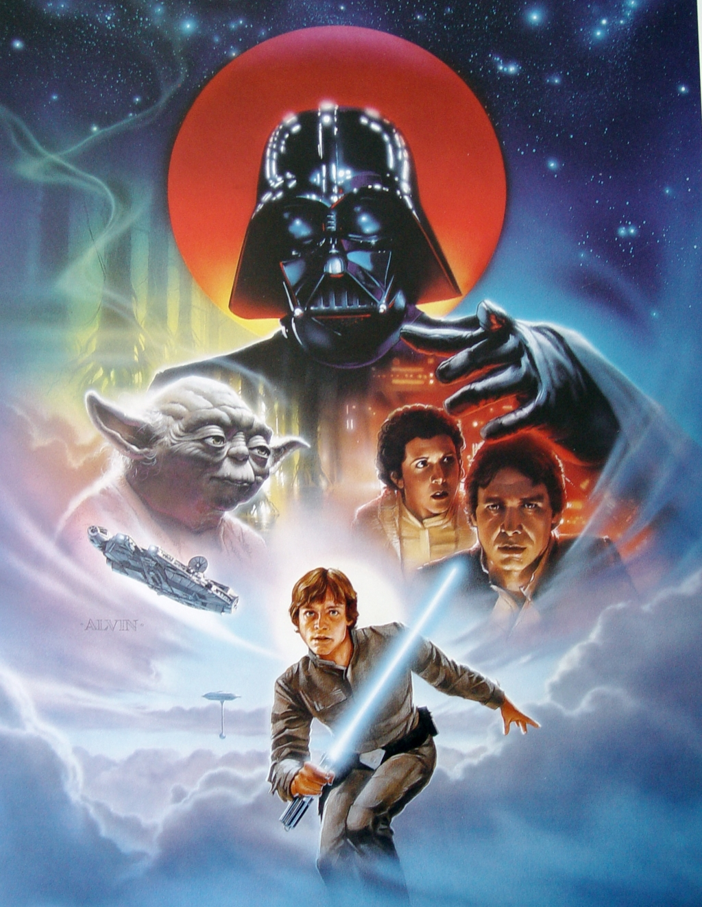 The Geeky Nerfherder: Movie Poster Art: Star Wars: The Empire Strikes Back (1980)
