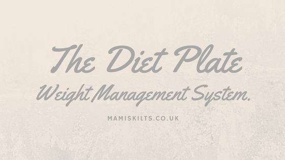 The Diet Plate Perfect Portion Weight Management System