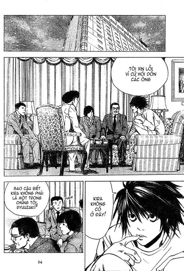 Death Note chapter 013 trang 14