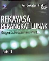 AJIBAYUSTORE  Judul Buku : REKAYASA PERANGKAT LUNAK (Pendekatan Praktisi) Edisi 7 - Buku 1 Pengarang : Roger S. Pressman, Ph.D. Penerbit : Andi Offset
