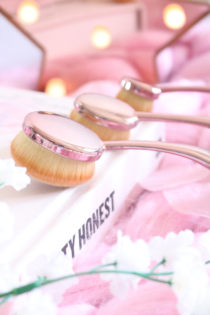 New In: Crown Rose Gold Brushes + Lip Stain