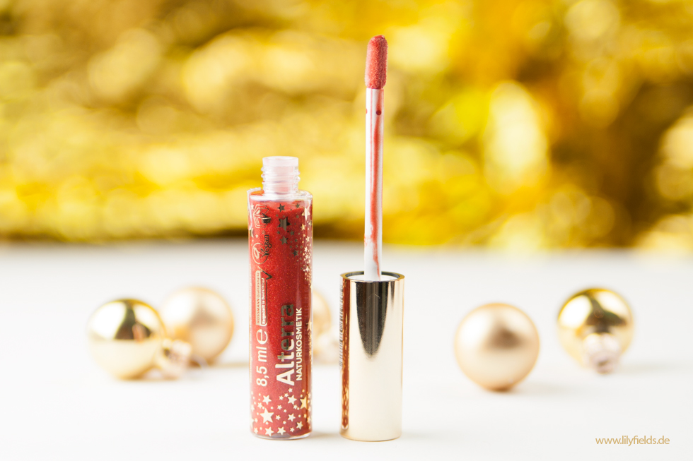 Alterra - Golden Wish - Sparkling Lipgloss
