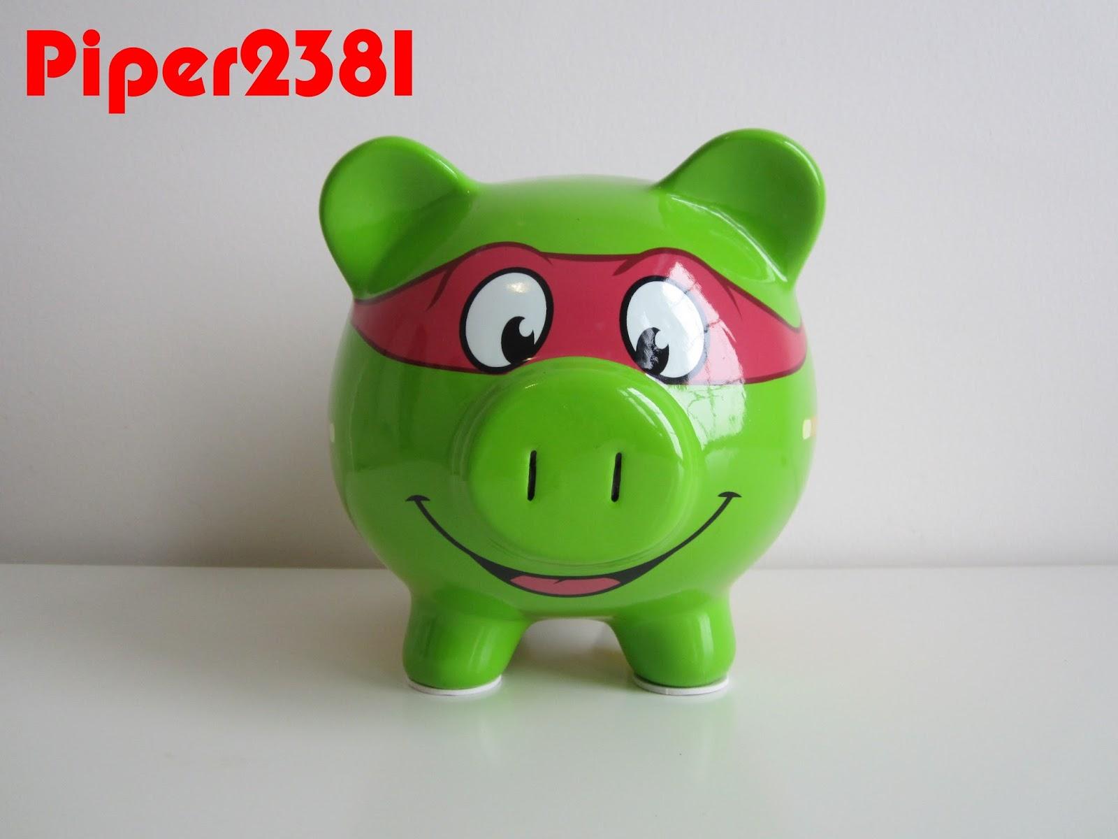 Piper2381 Teenage Mutant Ninja Turtles Piggy Bank