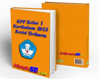 Download RPP Kelas 1 Kurikulum 2013 Revisi Terbaru
