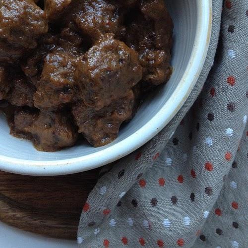 Rendang ~ indonesisches Rinderschmorfleisch