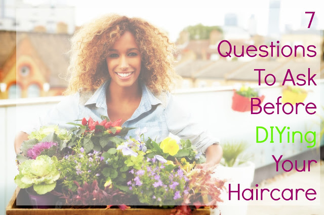 7 Questions To Ask Before DIYing Your Haircare