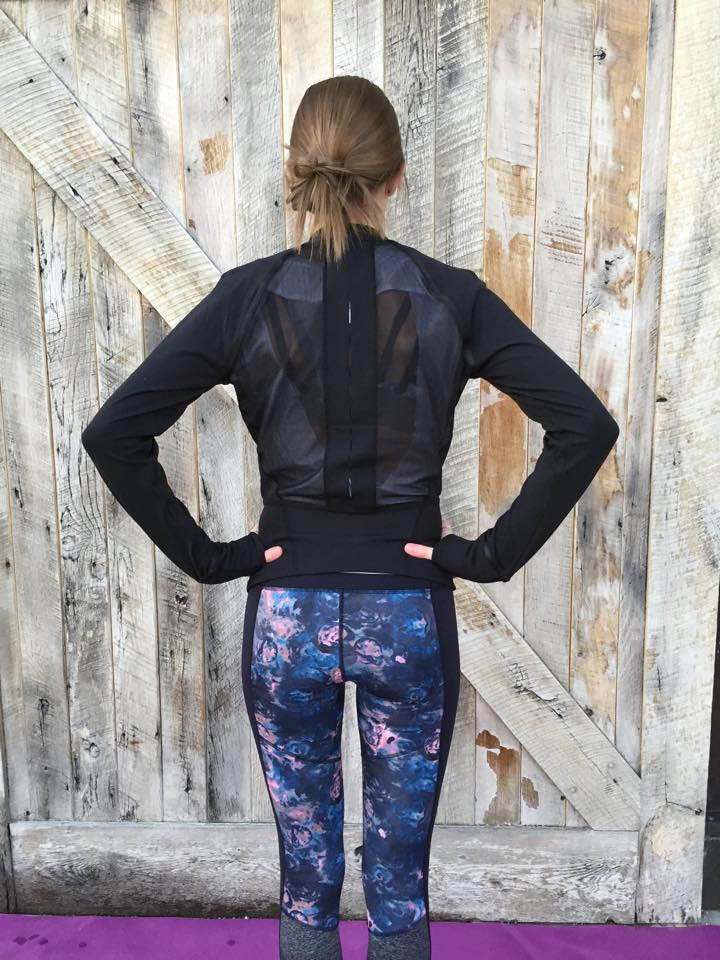 lululemon if you're lucky jacket crop