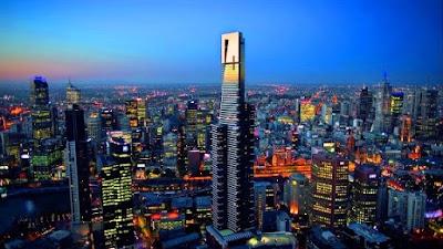 Eureka tower skydeck 88 tempat menarik di melbourne australia