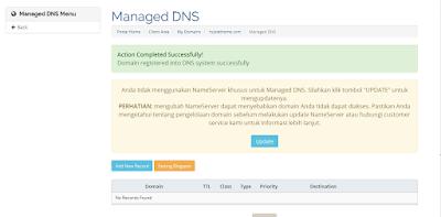 Cara Mengaktifkan Domain Dari Rumahweb ke Blogger