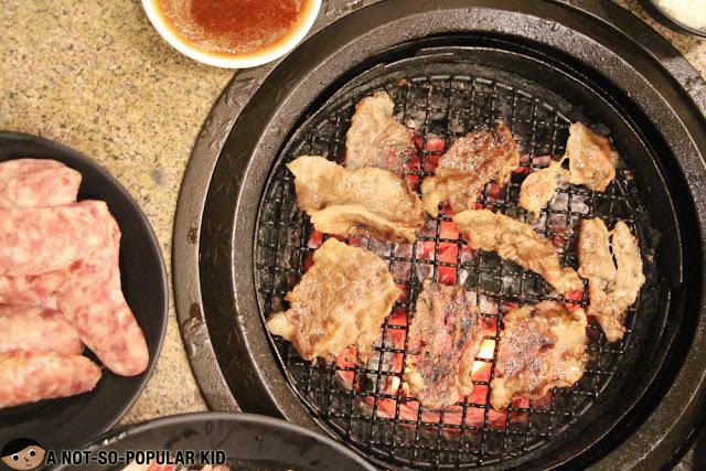 Japanese Grilling in Tajimaya