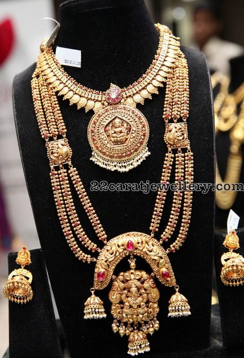 Antique Long Chain Lakshmi Choker