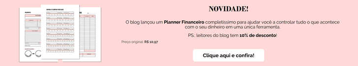 PLANNER FINANCEIRO DO BLOG