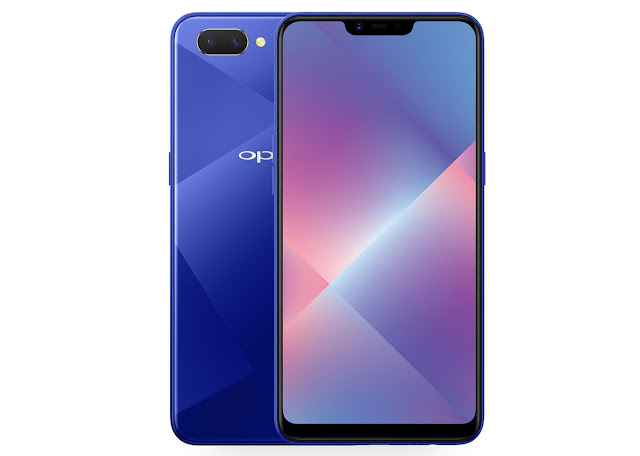 OPPO A5 With 6.2-inch FullView Display, Dual Rear Cameras