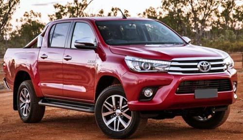 2017 Toyota Hilux Spy Shots
