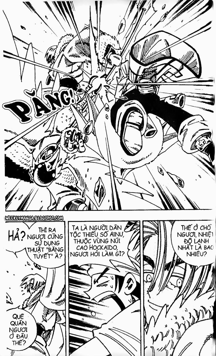 Shaman King [Vua pháp thuật] chap 127 trang 18