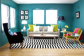 Cara Memilih Warna Cat Rumah