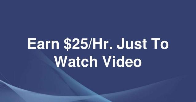 Kiếm 600$/tháng chỉ 40 giờ xem video với THW.Global