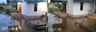 kampung prajurit, banjir