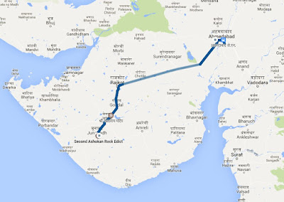 Junagarh to Ahmedabad via Rajkot, Saurashtra trip