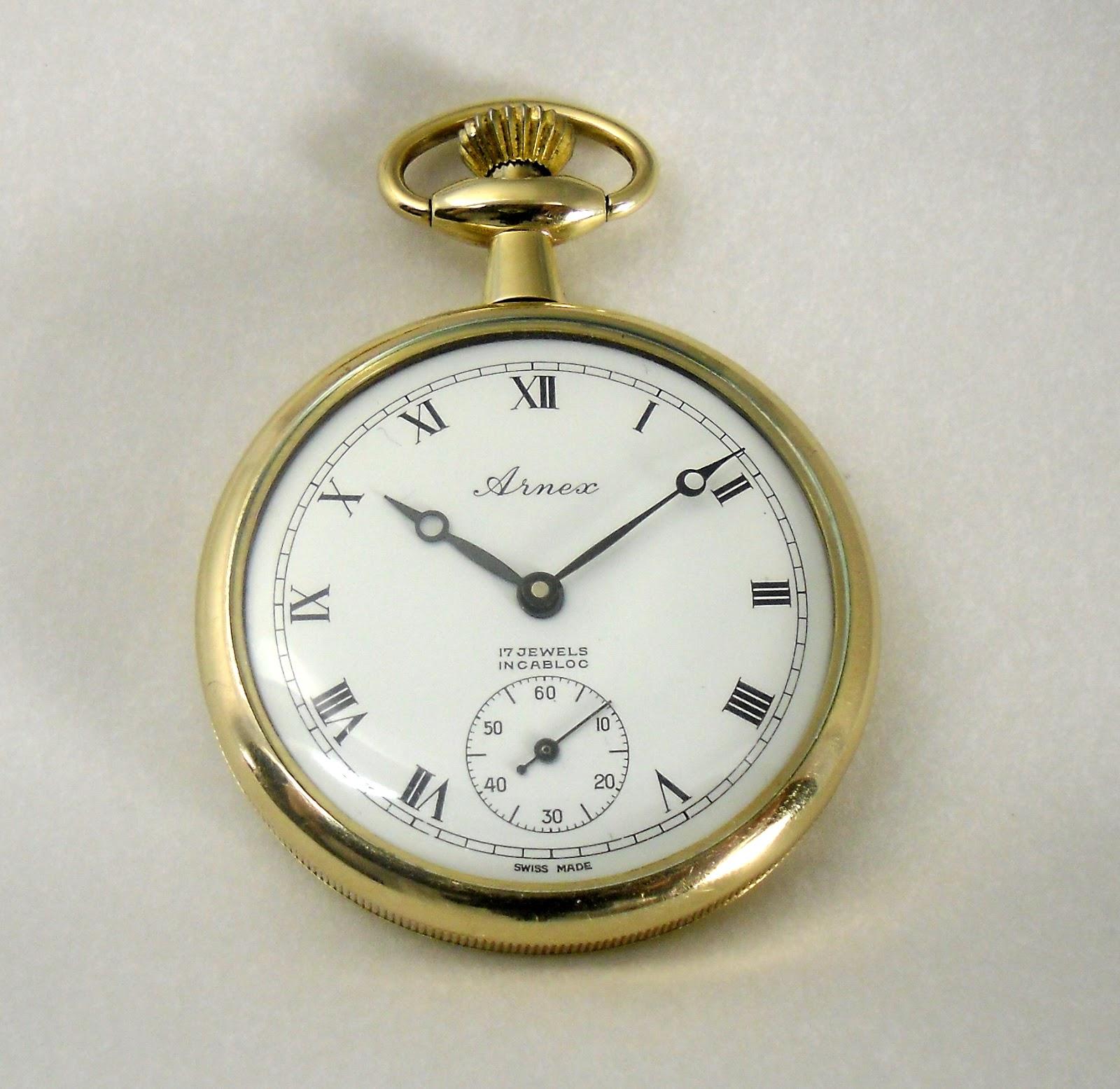 ab3ae3e94e5 Arnex Pocket Watch – Vintage-Hamilton-Wristwatches