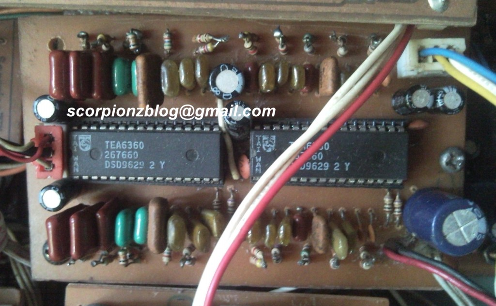 5 Band Graphic Equalizer Circuit