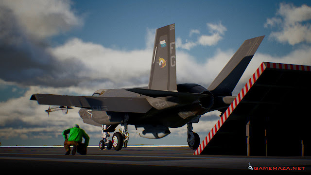 Ace Combat 7 Skies Unknown Gameplay Screenshot 1