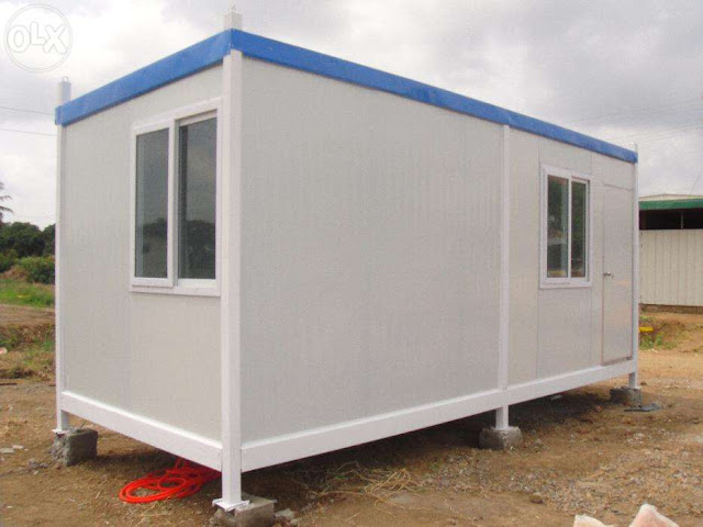 Prefab container house for only p200 000 for Prefab basement walls price
