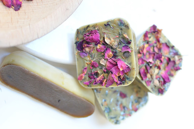 Rose Soap by Amy Renea, Author of Crafting With Nature