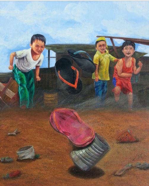Tumbang Preso Art by Cabby - Retro Pilipinas Feature