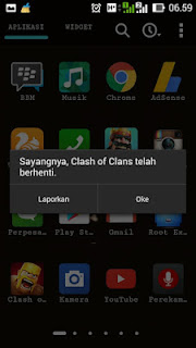 Game Coc Force Close