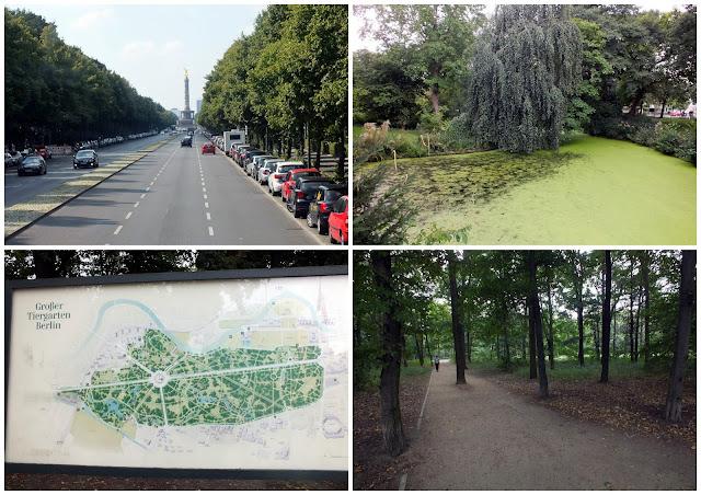 tiergarten, un parque en berlín